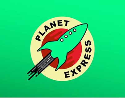 Planet Express New Visual Identity