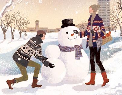 Cover ilustration for MembersMagazine