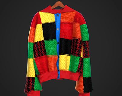 Virtual Garment Design // The Famous Cardigan