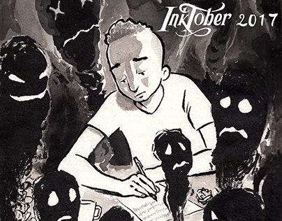 Inktober sketches 2017