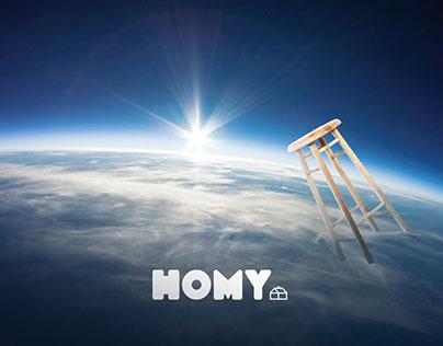 Homy · Terrazas & Comedores