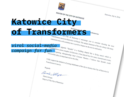 Katowice City of Transformers