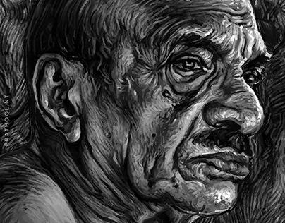 digital painting VAIKKAM MUHAMAD BASHEER