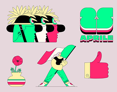 25 Aprile Sticker Pack