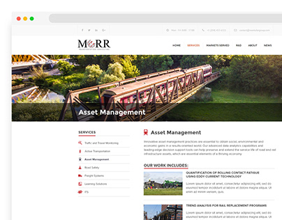 Website MORR — Consulting Firm