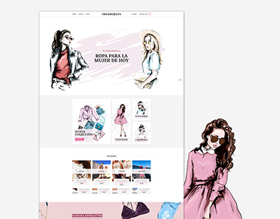 Innamorata Santander Website