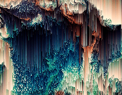 Abstract Pixel Art