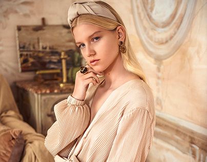 Editorial Fashion Photography - The Painting- Lucys Mag