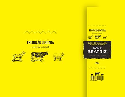 Dona Beatriz - Queijo/Cheese Branding & Packaging