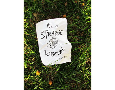 Veludo Azul | It's a strange world