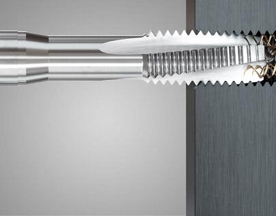 3D / CGI // Werkzeuge zur Gewindeherstellung
