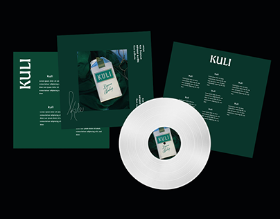 Kuli EP branding and promotions