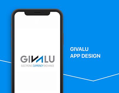 GIVALU App Design