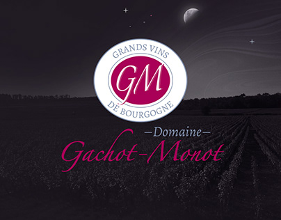 Domaine Gachot-Monot - Webdesign