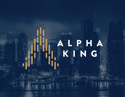 Alpha King - Logo