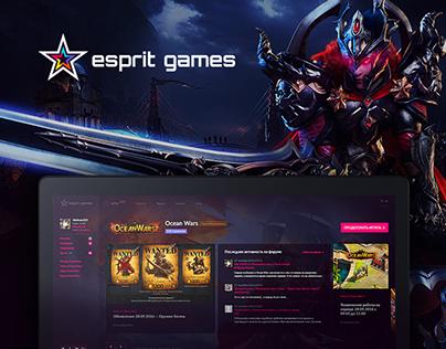 Esprit Games. F2P Games Publisher