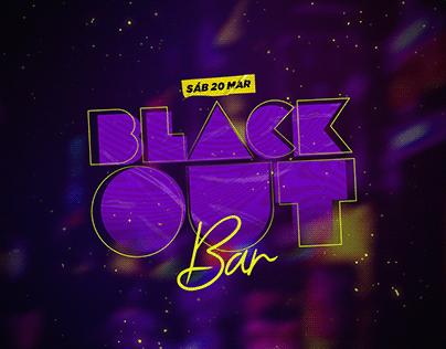Blackout Bar - social media