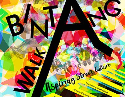Bintang Walk Poster Design