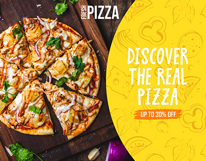 Web Banners for Restaurant