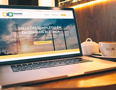 Site e Logotipo – ENGENAC