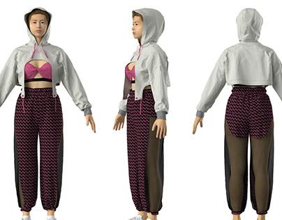 Sportswear 3D practice 2020
