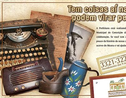 Campanha - Museu Municipal de Conceição das Alagoas