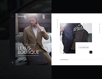 Lexus boutique