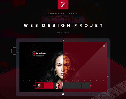 Web design | Zombie Walk - 2017