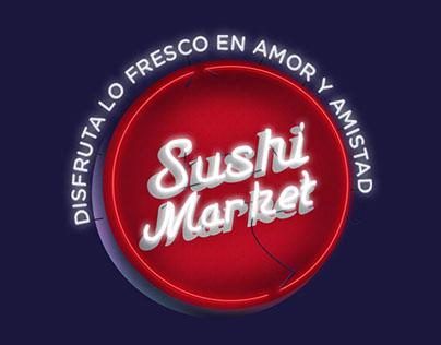 """Sushi Market """"amor y amistad"""""""