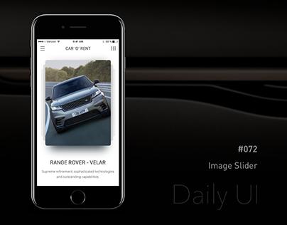 Daily UI - #072