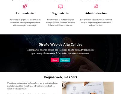 Diseño de Páginas Web YuumGo