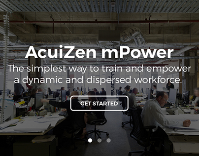 Acuizen Landing Page