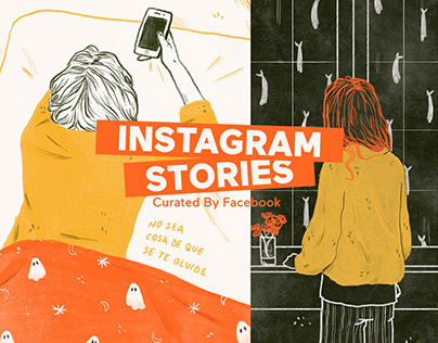 CURATED BY FACEBOOK | Instagram Stories