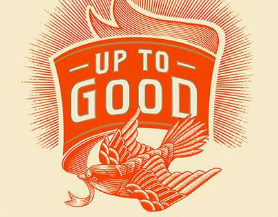 Up to Good Label Illustrated by Steven Noble