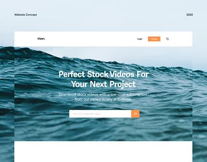 Viden - Website