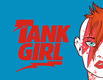 TANK GIRL X DAVID BOWIE