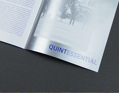 Brochure design for Quintessential