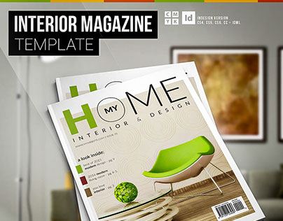 My Home - Interior Magazine Template