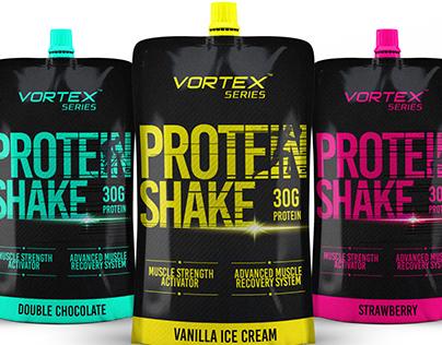 Protein Shake Drink by Vortex Series | Packaging