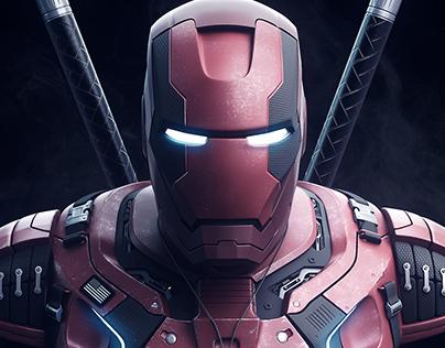 Iron Man Dead Force Armor