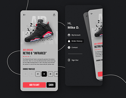 Sneaker Store - Mobile App