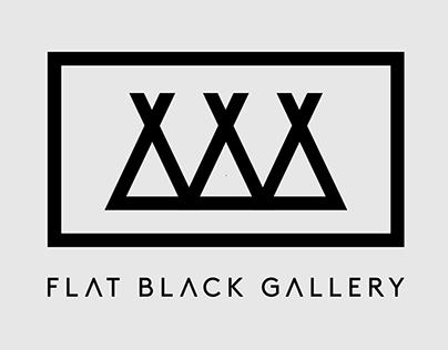 Flat Black Gallery - Logo Creation