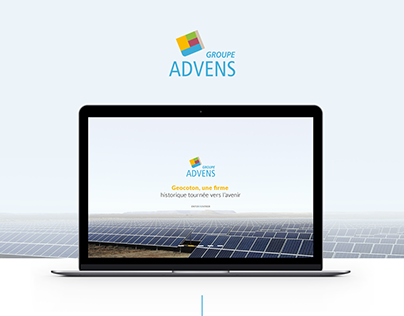 Groupe Advens - Website