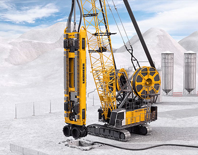 Equipment for slurry wall