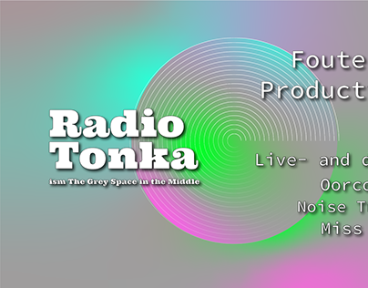 Radio Tonka: The FMP edition - Flyer esign