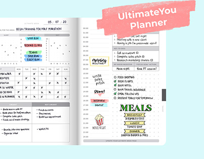 3D Animation | UltimateYou Planner