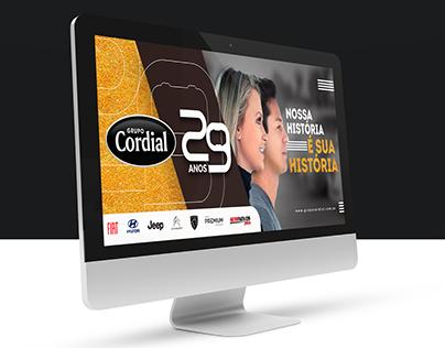 Grupo Cordial | Campanha 29 anos