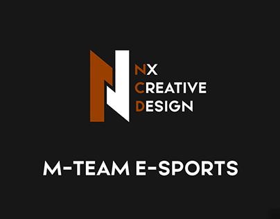 LOGO PANDA E-SPORTS (M-Team)