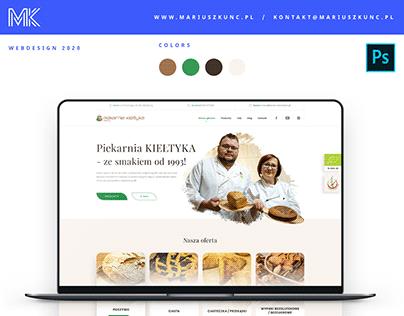 Piekarnia Kiełtyka / webdesign