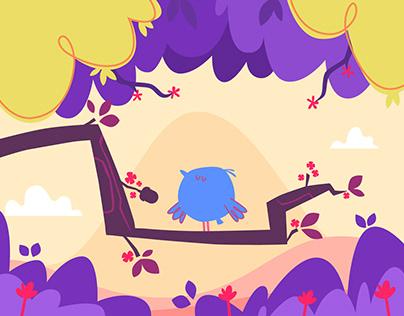 Hungry Bird - animation